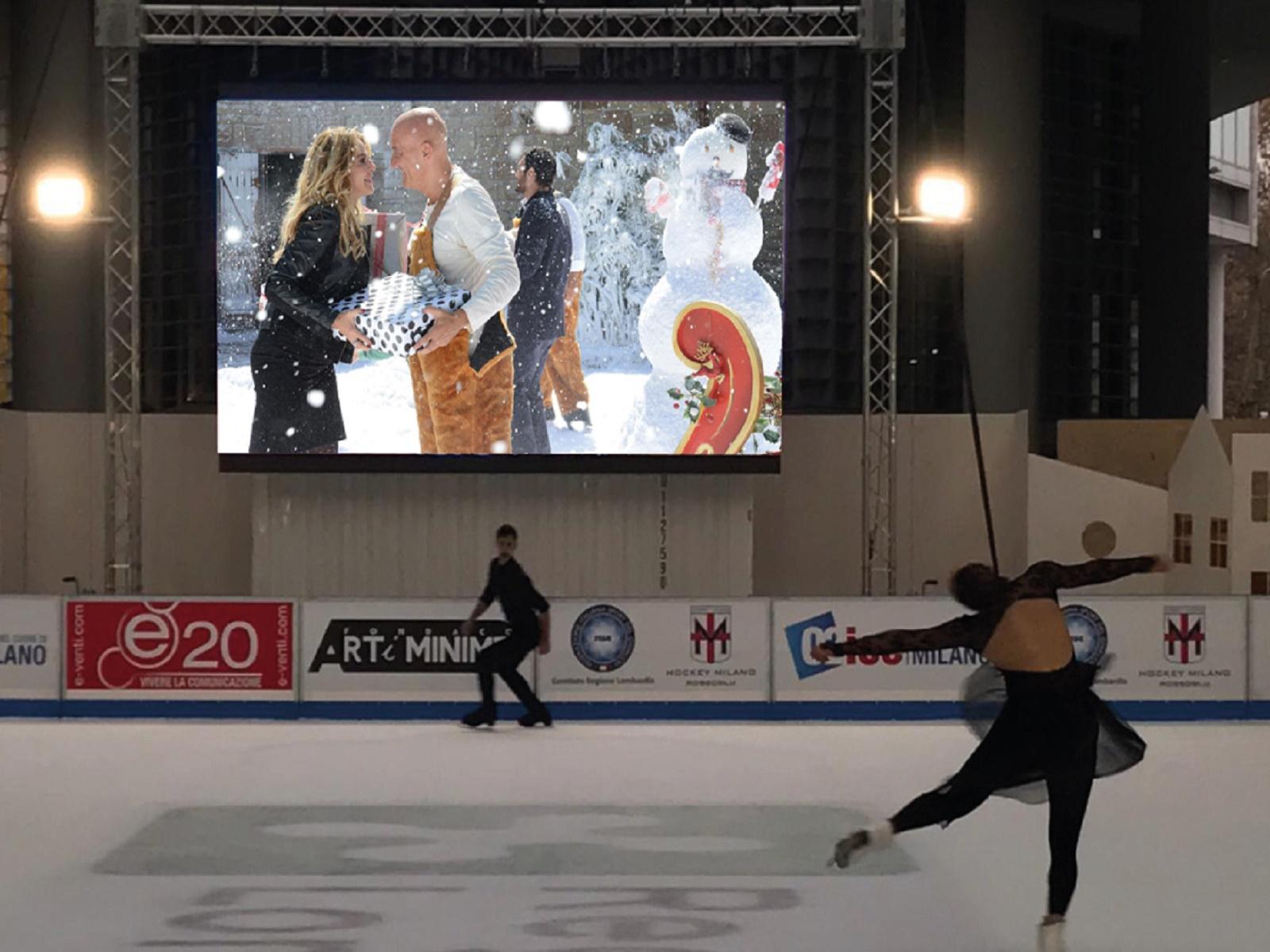cinema pattinando