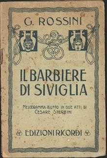 Il barbiere di Siviglia - Segreto